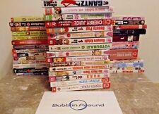 $3 Manga You Choose from 100+ Titles Shoujo Shounen Seinen Viz No ExLibrary