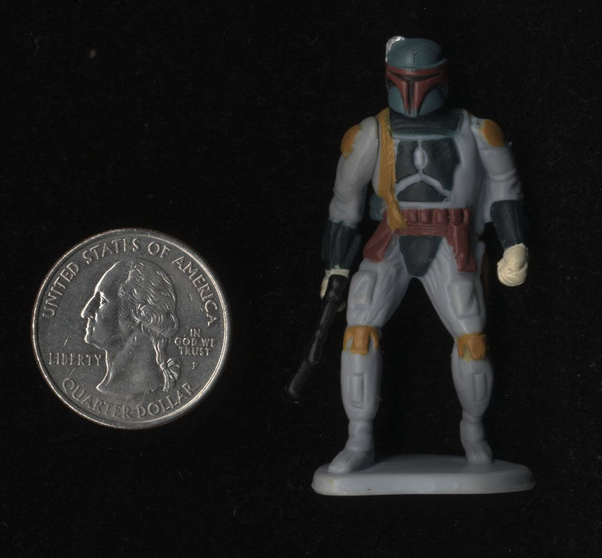 Star Wars Mexican Gamesa Boba Boba Boba Fett Rare Figure Food Premium 1997 0fc3bc