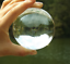 thumbnail 3 - 60mm Photography Crystal Ball Sphere Decoration Lens Photo Prop Lensball Clear