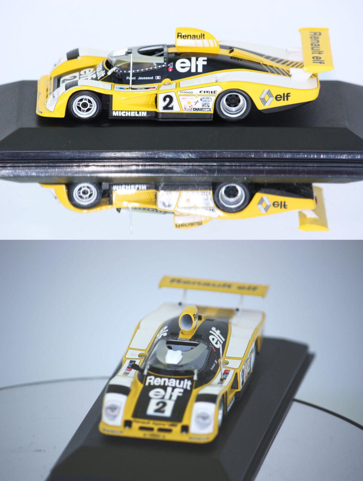 Minichamps Renualt Alpine A442b N ° 2 Winner 24h de Mans 1978 1 43