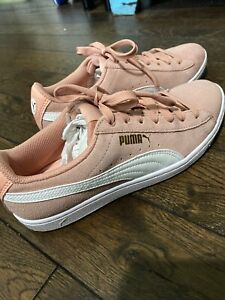 Puma Suede Classic Womens Pink Low Top
