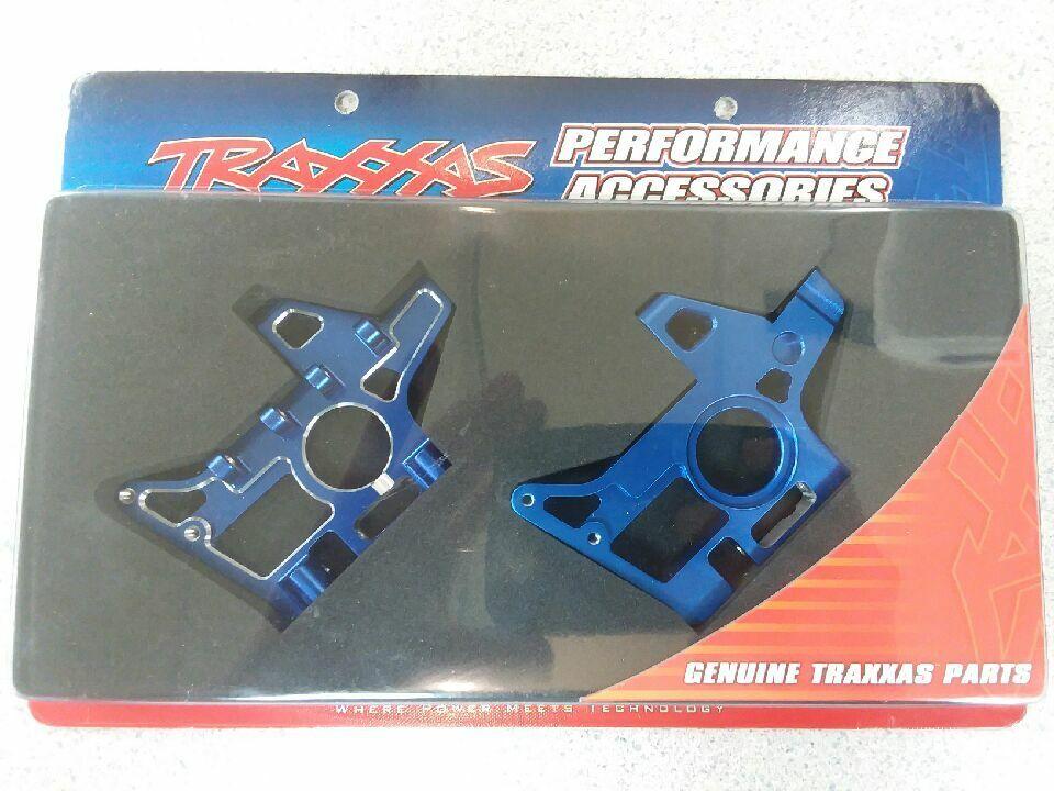 Traxxas 4930X Aluminio Delantero mamparos (EMX, TMX 2.5) Nuevo