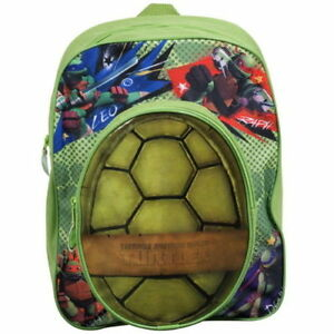 Tennage-Mutant-Ninja-Turtles-Rucksack-Backpack-Pocket-Boys-Bag-School