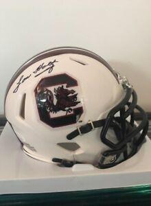 Lou Holtz South Carolina Gamecocks Autographed Mini Helmet ...