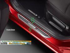Mazda 3 Door Sill Trim Plates (set of 4) fits  4 door or 5 door 2014-2017
