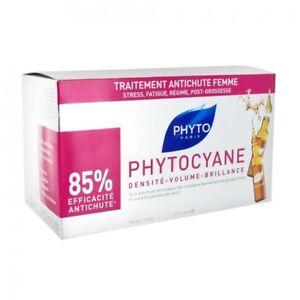 Caricamento dell immagine in corso Phyto-PHYTOCYANE-FIALE-Trattamento -Anticaduta-Donna-Serum-Revitalizing- d5e26a1a6781