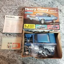 1991 Monogram 1970 Heavy Chevy Chevelle SS 3 'n 1 1/24 Plastic Model Kit