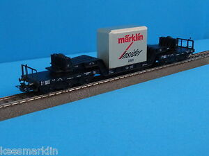 Marklin-46181-Well-Wagon-with-Cast-Metal-blocl-Load-034-Insider-model-2001-034