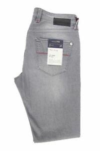 TRAMAROSSA-SARTORIA-Grigio-Denim-Jeans-Taglia-38-L35-RRP185-UN14