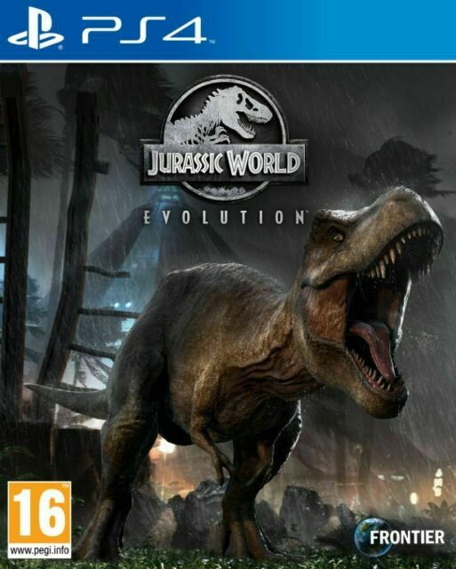 Jurassic World Evolution (PS4) NEW FACTORY SEALED.