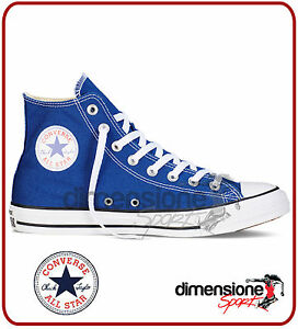 ALL STAR CONVERSE ALTE TG 45 ALTE US 11 151168C SEASONAL ROADTRIP BLU AZZURRO