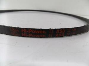 Gates A53 Hi-Power Belt