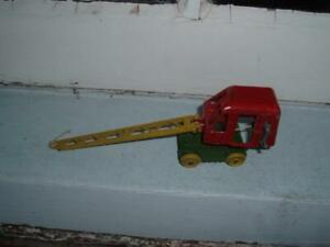 EARLY 1950's BENBROS PURE RUBBER PRODUCTS DIECAST 17 CMS LONG 5 CMS HIGH ANTIQUE
