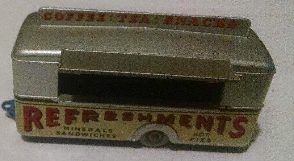 Matchbox Regular Wheel 74 Mobile Refreshment Canteen GPW DK bluee Base 1959