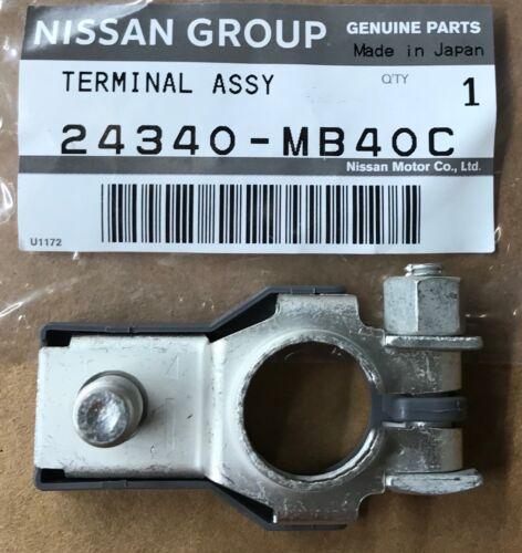 Infiniti NISSAN OEM 14-16 QX80 5.6L-V8-Battery Terminal-Negative 24340MB40C