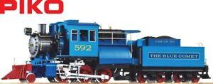 Piko-G-38241-Dampflokomotive-Camelback-Blue-Comet-034-Dampf-Sound-034-NEU-OVP