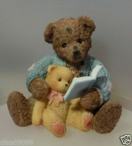"""CHERISHED TEDDIE """"BAXTER AND FRIENDS"""" IPR EDITION 644358F MINT  IN BOX"""