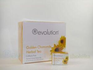 (31,41 Eur/100 Grammes) Révolution Thé-golden Chamomile Herbal Tea 30 Ct-afficher Le Titre D'origine Grandes VariéTéS