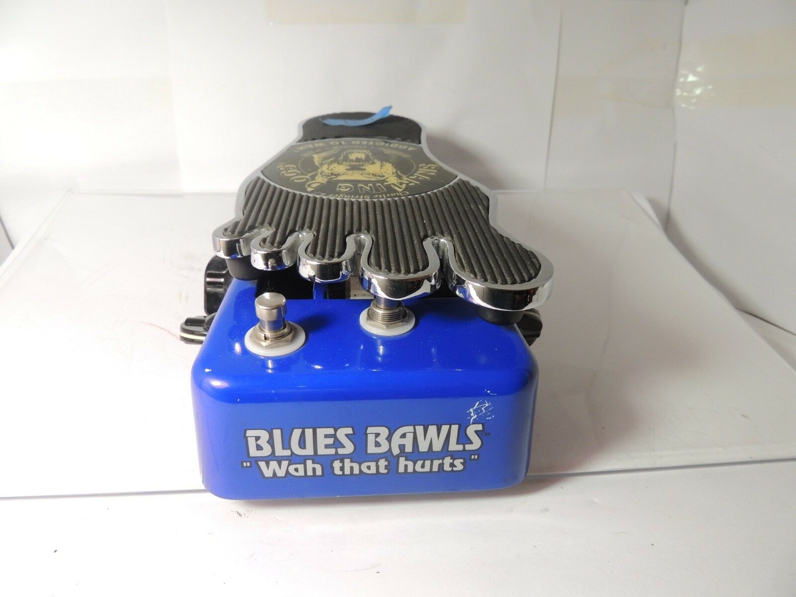 Snarling Dogs Blaus Bawls  Wah That Hurts  Wah and Overdrive Effects Pedal