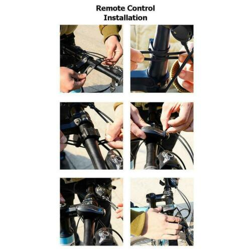 Bicycle Burglar Alarm USB Charging Road Bike Security Lock Cycling Horn Useful