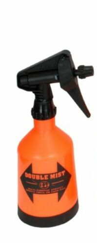 Double Mist Trigger Sprayer Yard  Plants Adjustable 2 Sprays 1//2Liter Orange