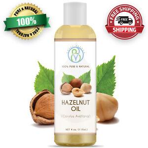Hazelnut Oil 4oz 100 Pure Natural Carrier Oil Great For Skin Hair Massages Ebay