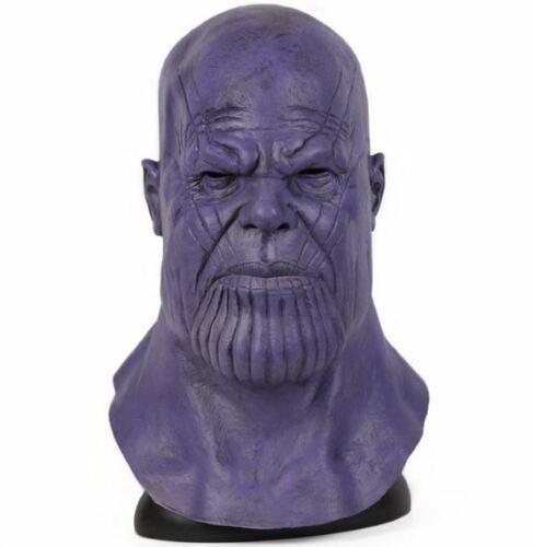 Avengers Mask Cosplay Thanos Infinity Halloween Helmet War Latex Marvel Endgame