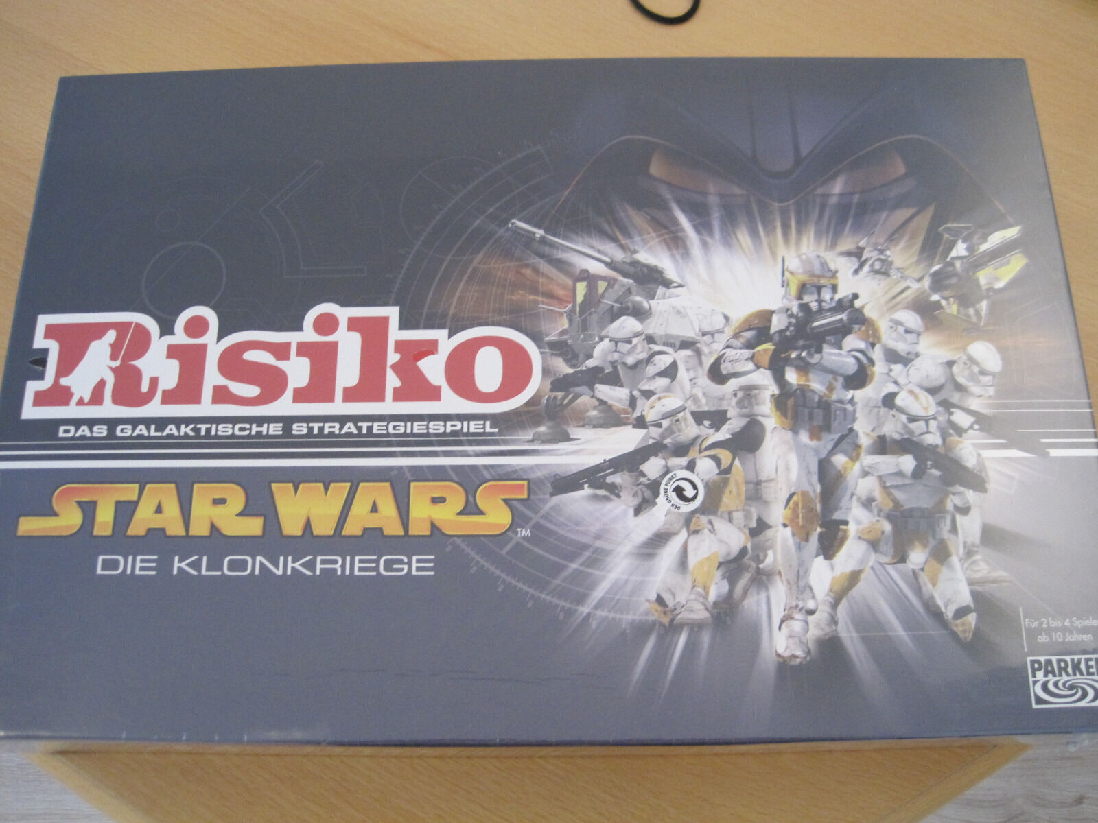 Risiko Star Wars - Die Klonkrieger, neu, ovp, in Schutzfolie, 2005