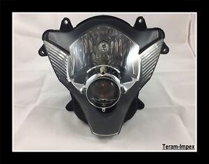 Optique-de-Phare-Feu-Avant-pour-Moto-SUZUKI-GSXR-600-750-de-2006-2007-NEUF