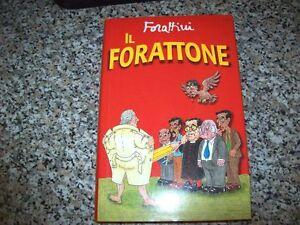 GIORGIO-FORATTINI-IL-FORATTONE-MONDADORI-PRIMA-EDIZIONE-1996-VIGNETTE-POLITICA