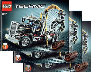 LEGO® Technic BAUANLEITUNG für 9397 Holztransporter NEU ONLY INSTRUCTION