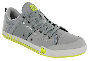 Merrell-Rant-HighRise-Hombre-De-Lona-Casual-Con-Cordones-Plano-Acolchada-Zapatos