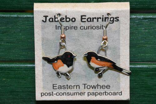 Jabebo Earrings Eastern Towhee