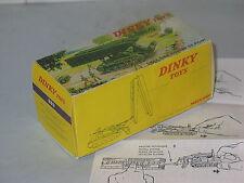 (Boite Copie Dinky Toys) 883 CHAR AMX POSEUR DE PONT (VIOLET)