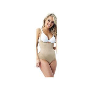 fd421f5db5 2 X JML Womens Comfy Belvia Slimming Bodysuit Underwear Shapewear Beige XXL  26. 1