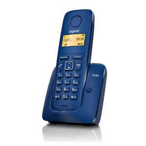 TELEFONO-SIEMENS-GIGASET-A120-AZUL