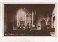 St Georges Church Wolverton Vintage RP Postcard 300b