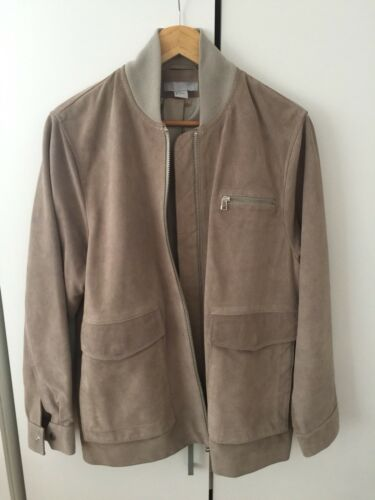 38 H Coat 12 Oversized Uk Trend Premium Tan Eu amp;m Suede Jacket 6zw6B