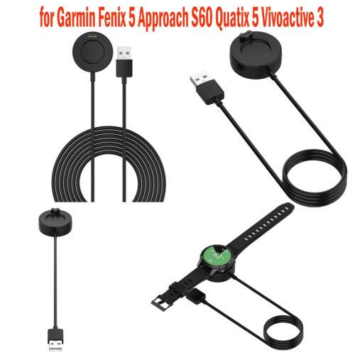 Charger dock with USB cable for Garmin Fenix 5 Approach S60 Quatix 5 Vivoactive3