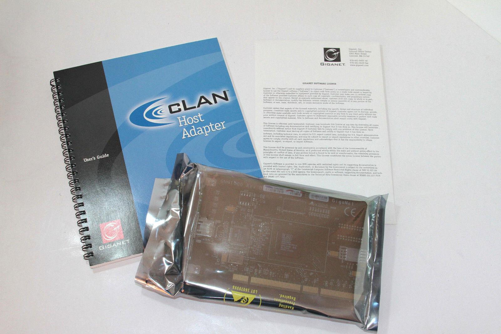 Giganet cLAN Host Adapter GNN1000 Rev D New In Box NNG 9832