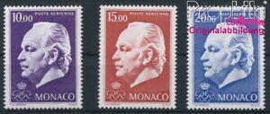 Monaco-1160-1162-postfrisch-1974-Flugpost-8940413