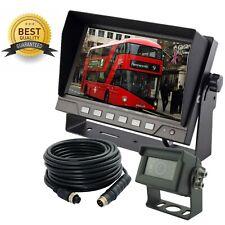 AHD 720P 9 Reverse Rear View Backup Camera System with TVS Protection Night Vision Waterproof IP69K Camera Mirror//FLIP Image for Tractor//Truck//RV//Bus//Motorhome//Excavator//Caravan//Skid Steer//Harvester