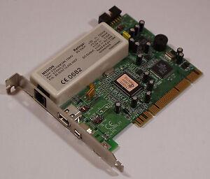 Medion Firewire und Modem V.9X HAM 56K 1394V CTX900_V3 PCI Karte