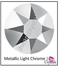 METALLIC LIGHT CHROME 5ss 1.8mm 144 pcs Swarovski Crystal Flatback Rhinestones