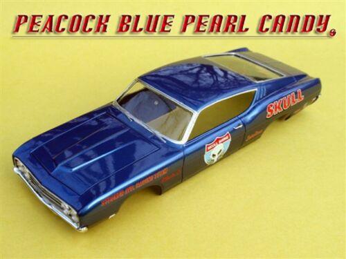 100g Peacock Blue Pearl Pigment Powder Custom Auto Paint Nail Art Airbrushing