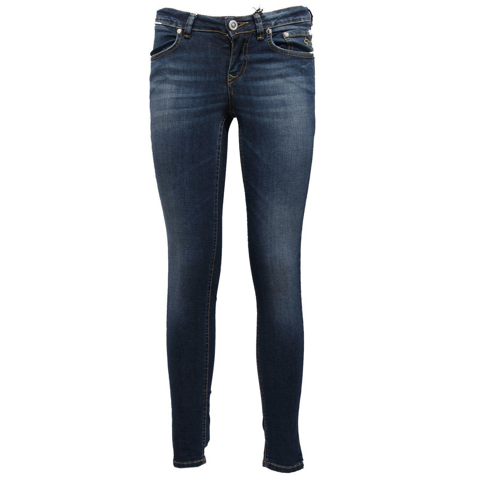2869Z Jeans  mujer Siviglia 599 Skinny Fit Pantalones Azul Vintage Mujer  barato