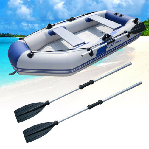 2PCS 126CM Durable Aluminium Kayak Paddles Lightweight Join Together Boat Oars