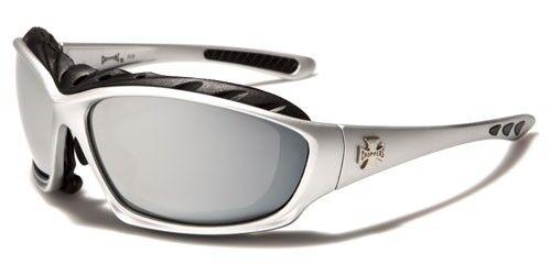 gris Blanc hommes soleil rouge Ch124 de Lunettes argent foncé Choppers pour 8STgwanx