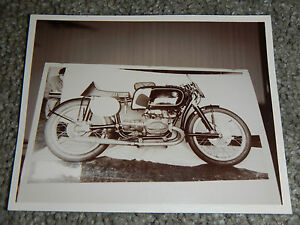 Details about OLD VINTAGE MOTORCYCLE PICTURE PHOTOGRAPH BMW BIKE
