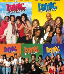 Living Single Tv Series Complete Season 1 5 1 2 3 4 5 New 15 Disc Dvd Set 888574524135 Ebay